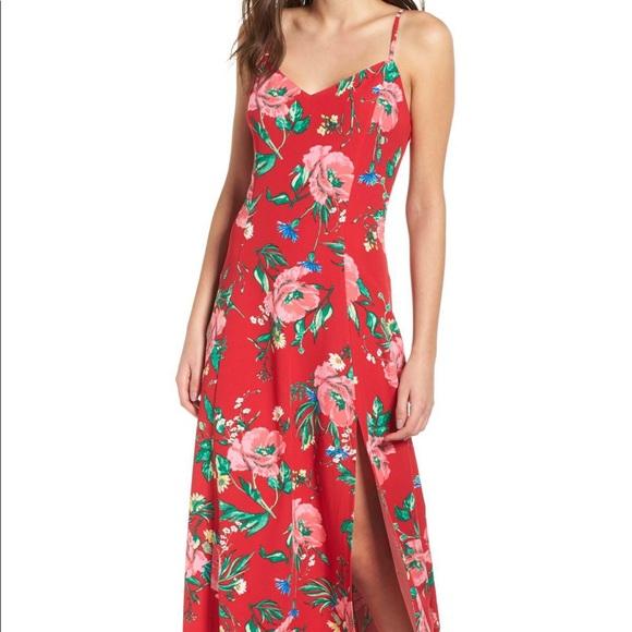 a7b89fd905a7 love, Fire Dresses | Nwot Love Fire Floral Maxi Dress | Poshmark